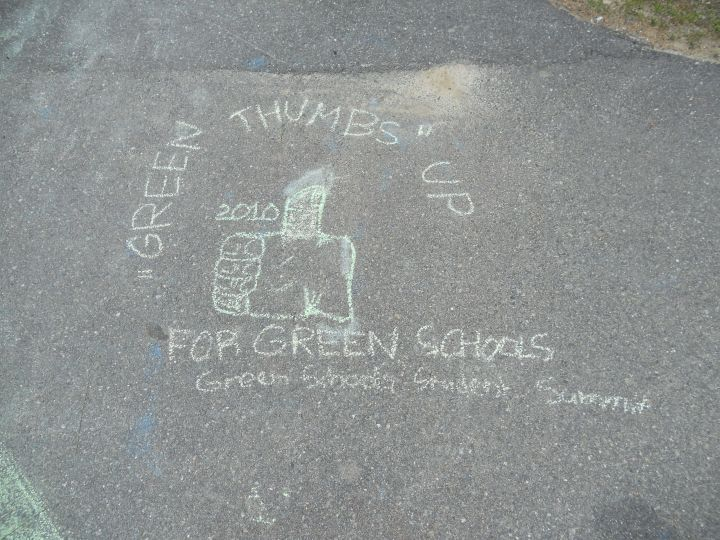 Green Schools in chalk