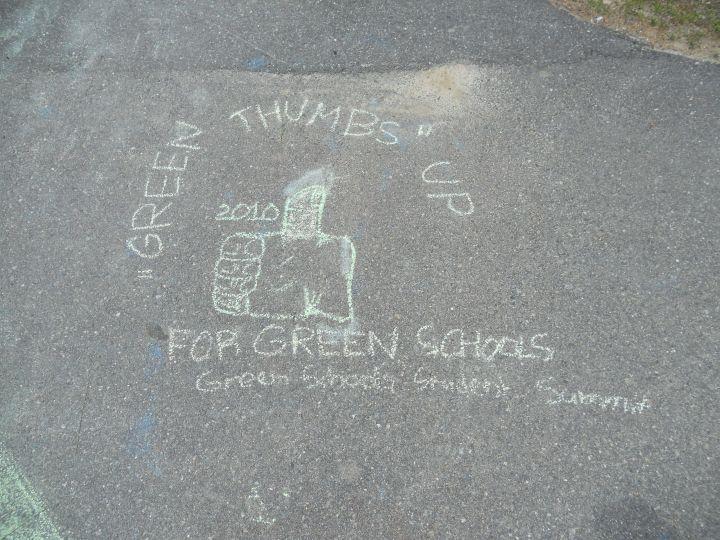Green Schools in chalk